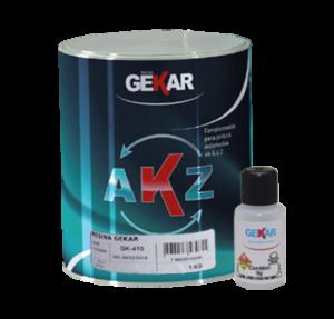 Embalagem Resina para laminação com Catalisador Gekar