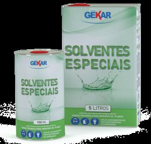Embalagem Solventes Especiais