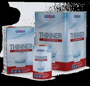Embalagem Thinner Acabamento Gekar