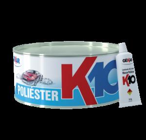 Embalagem Massa Poliester K10 - Gekar