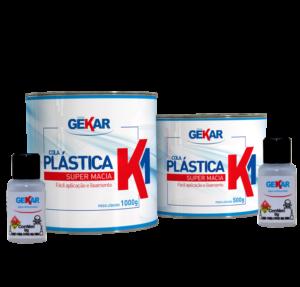 Embalagem Cola Plastica K1 Gekar