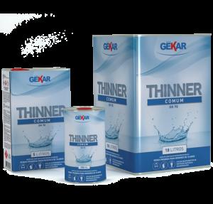 Embalagem Thinner Comum Gekar